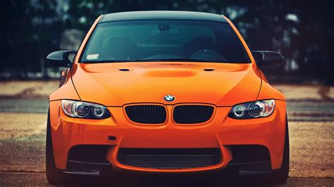 Bright Orange Car by Bright Orange Car Bmw Wallpapers And Images Wallpapers