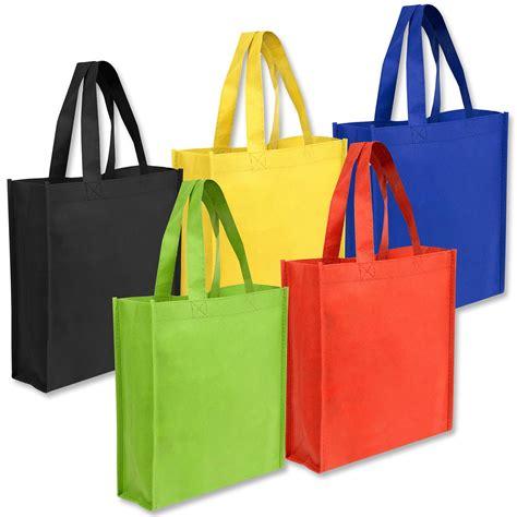 cheap in bulk wholesale 10x9 gift tote bag 5 colors bags in bulk