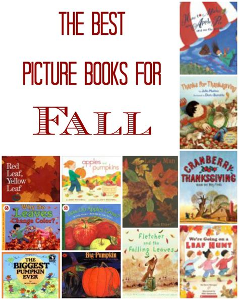 recommended picture books best children s picture books for fall only