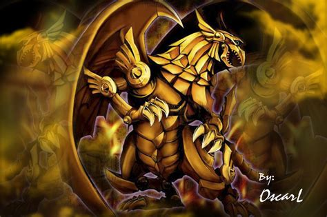winged dragon of ra by oscarl garudoz1 by garudoz1 on