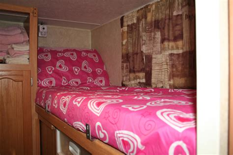 rv sheets for bunk beds decorating a kid s bunk bed for holidays this rv