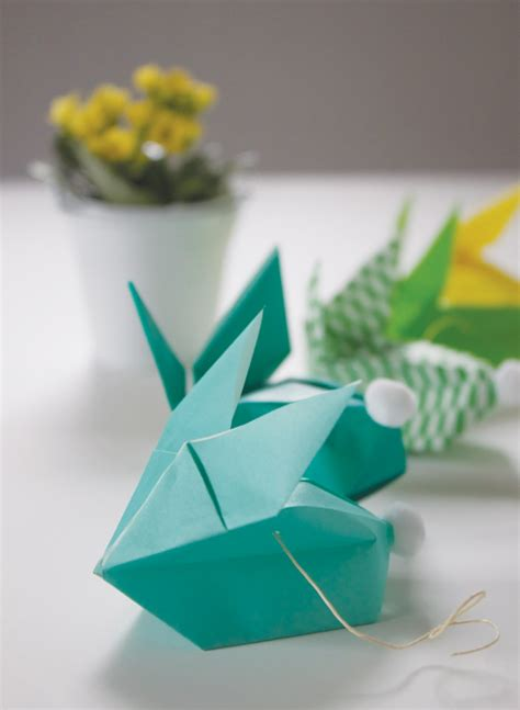 easter origami bunny craftionary