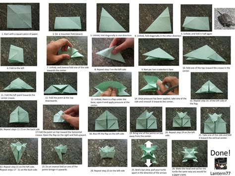 how to make an origami turtle origami turtle by lantern77 on deviantart