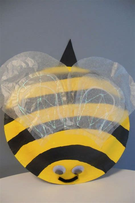 Paper Plate Bumblebee Paper Plate Crafts