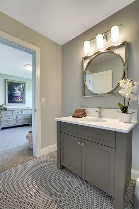 Grey Bathroom Cabinet Paint Color Grey Bathroom Cabinet