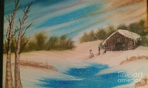 bob ross painting house bob ross silent whisper nicky jaggers painting for sale
