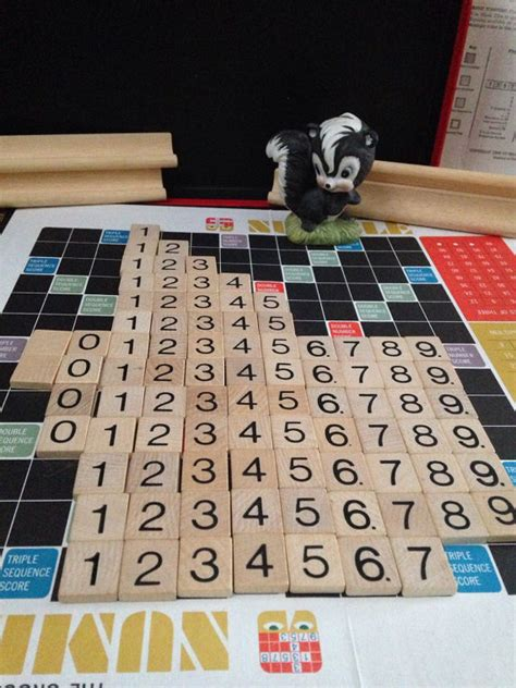 number of scrabble tiles numble scrabble number tiles by venturingvintage on etsy