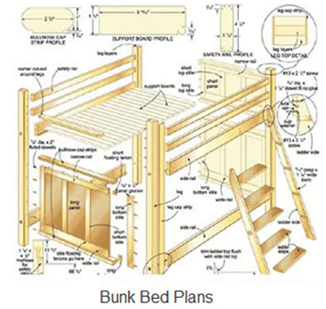 free plans woodworking beware of free bunk bed plans