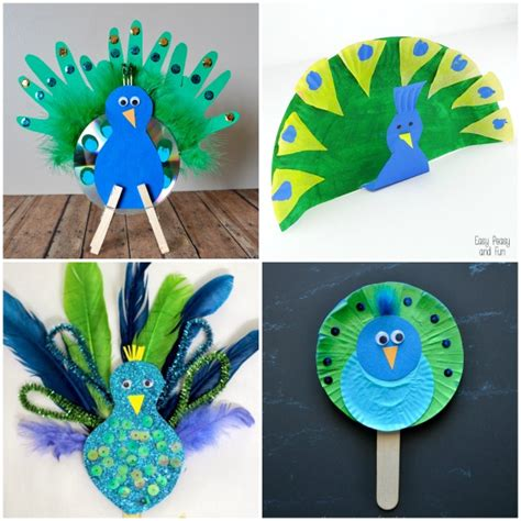 peacock crafts for i crafty things 10 pretty peacock crafts for