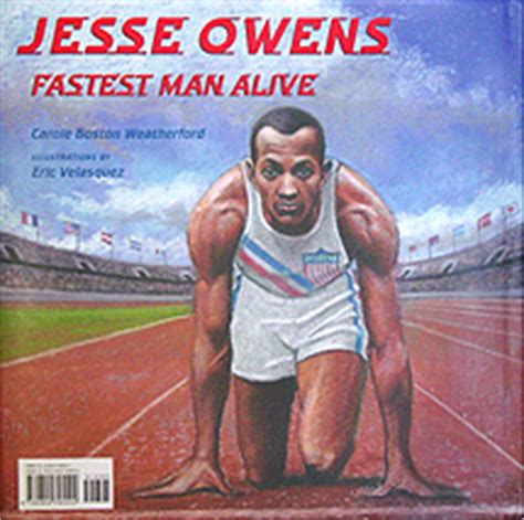 a picture book of owens we books etc owens fastest alive a
