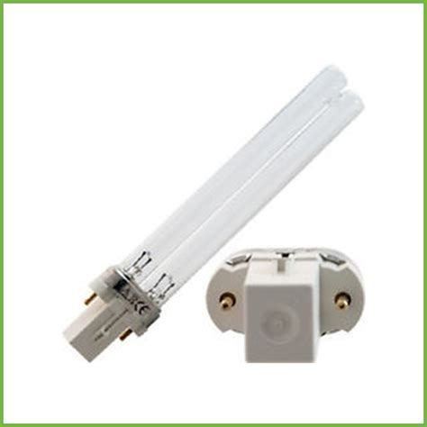 the uv l 36 watt are pl style l with g23 base