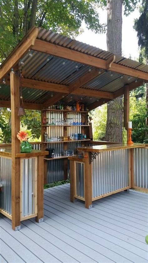 outdoor kitchen roof ideas 20 amazing backyard ideas that won t the bank page
