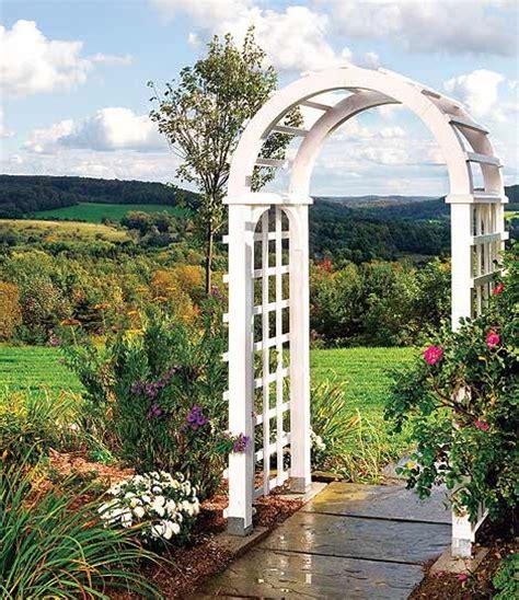Garden Arbor Archway How To Build A Garden Arbor Simple Diy Woodworking Project