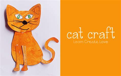 cat craft for printable cat craft