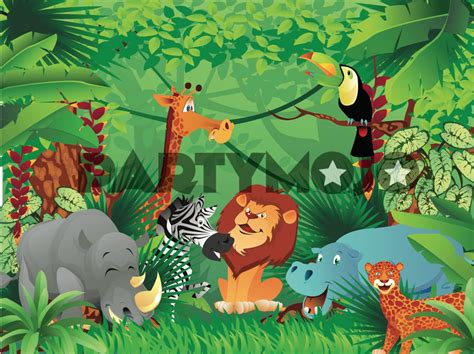 How To Do Birthday Decoration At Home safari themed party package