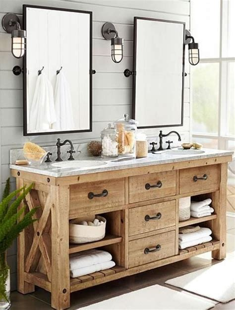 Rustic Modern Bathroom Vanities by 33 Stunning Rustic Bathroom Vanity Ideas Remodeling Expense