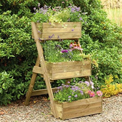 backyard planter box ideas diy vertical raised container planter box for small