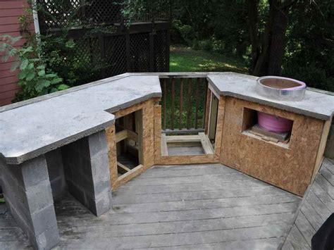 simple outdoor kitchen designs outdoor simple outdoor kitchen countertop material how
