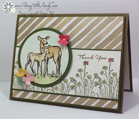 card blogs watercolored in the meadow by amyk3868 cards and paper