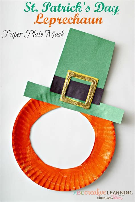 st patricks day kid crafts five st patricks day crafts your will