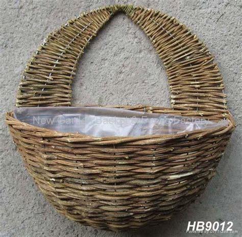 wall garden baskets rattan wall basket wall planter rattan hanging basket
