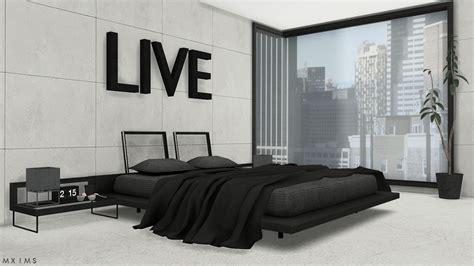 Ikea Kitchen Sets Furniture stylish modern bedroom bed without blanket animation