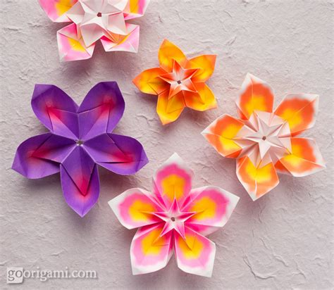 flower origami for origami flowers and plants gallery go origami