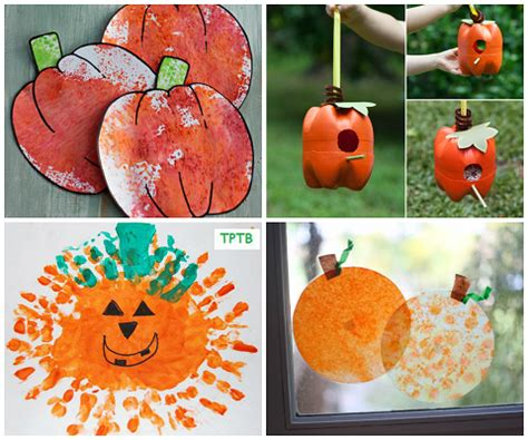 pumpkin craft ideas for easy pumpkin crafts for to make this fall crafty