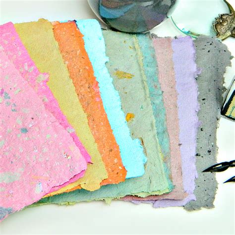 how to make handmade paper crafts how to beautiful handmade paper in custom colors make