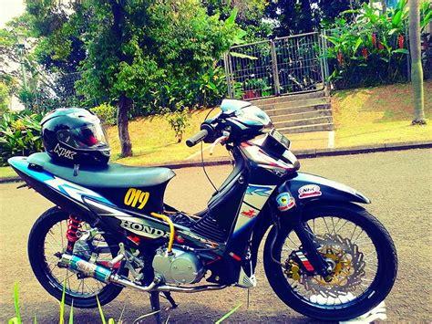 Gambar Modifikasi Motor Supra X by Gambar Modifikasi Motor Honda Supra X 125 Terbaru