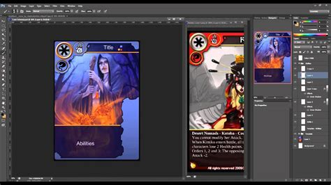 make trading cards free how to create trading cards in photoshop