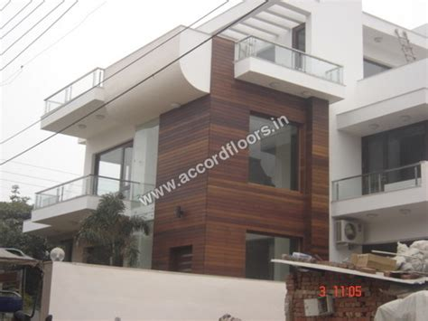 Home Exterior Design India Residence Houses wall cladding exterior wall cladding exterior exporter