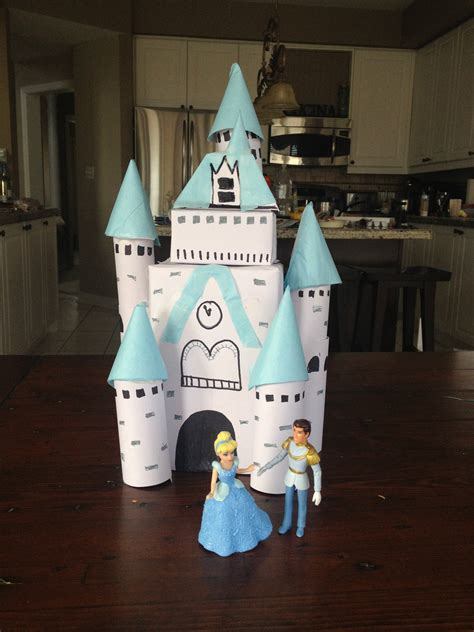toilet paper roll castle craft diy castle made from toilet paper rolls s realm