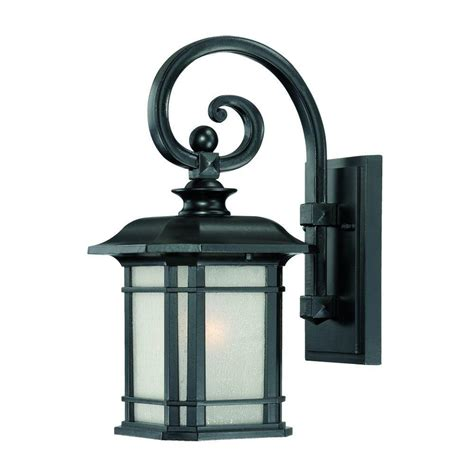 outdoor light fixtures home depot acclaim lighting somerset collection 1 light architectural