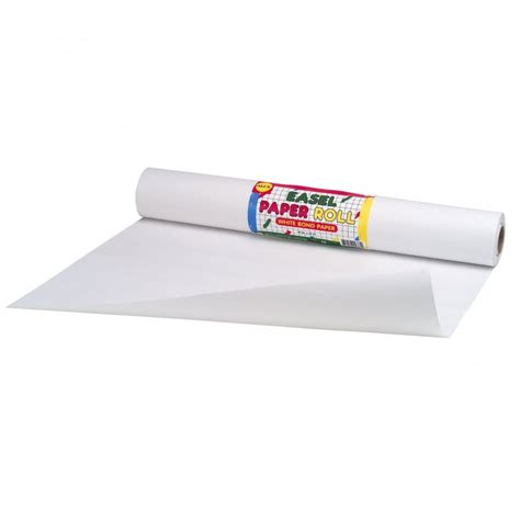 roll of white craft paper easel white paper roll alex brands from craftyarts co uk uk