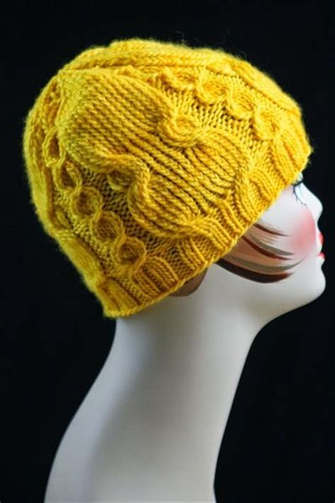 knitting a hat with circular needles pattern twisted cable knit hat cable circular knitting needles