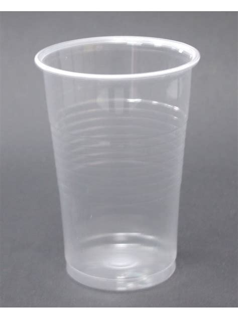 with plastic plastic glass 250 ml 1000 pcs