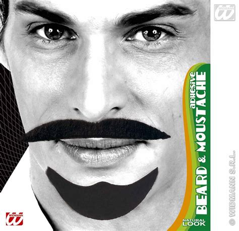 beard accessories carnival accessories beard and mustache black arab