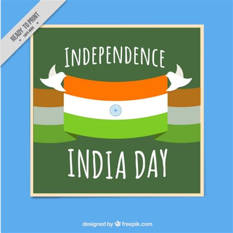 how to make independence day card india independence day card vector free
