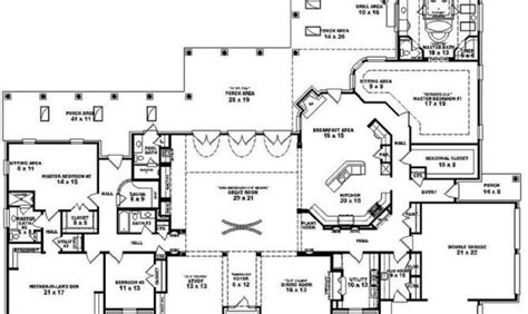 one story house plans with 4 bedrooms single story 5 bedroom house plans 27 delightful 5 bedroom house plans single story