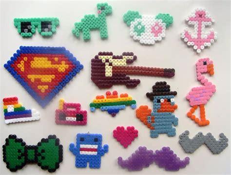 what to make with perler perler stuff 1 by izzytheragdoll on deviantart