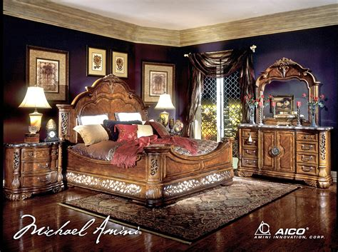 fruitwood bedroom furniture michael amini excelsior bedroom furniture collection