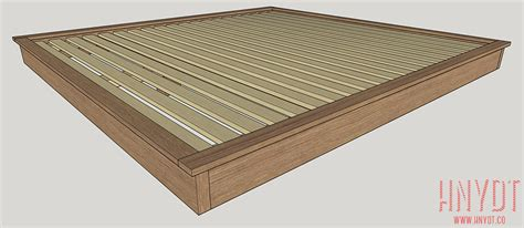 size platform bed plans diy platform bed plans diywithrick