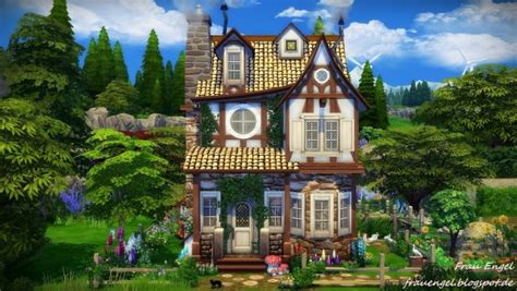 Victorian Style Home Plans frau engel witch house sims 4 downloads