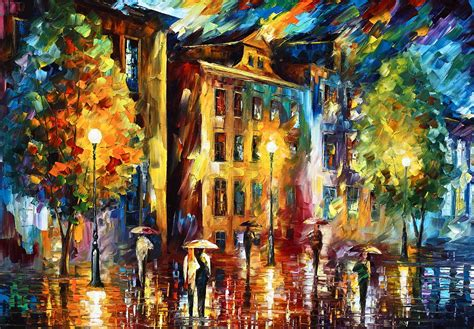 paint nite cities city painting by leonid afremov