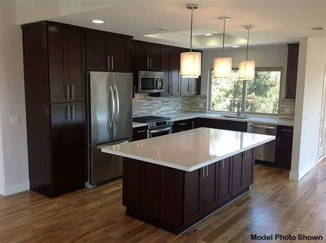 10x10 Kitchen Floor Plans contemporary kitchen with pendant light by 3 day flooring