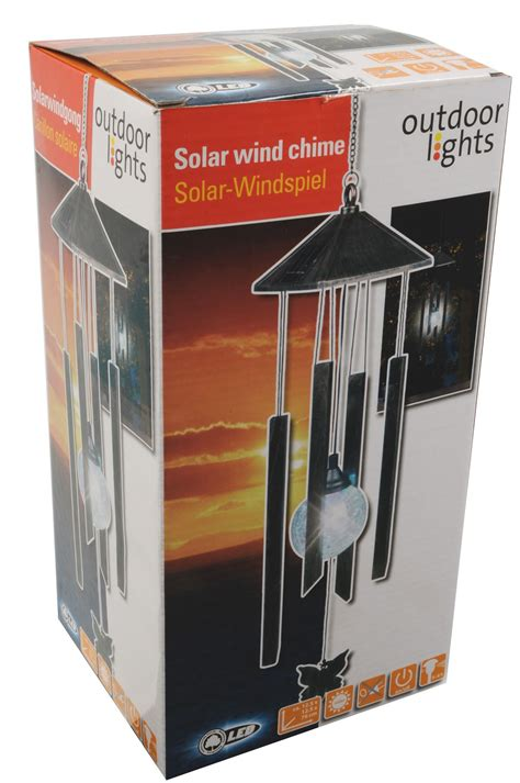 outdoor solar lights with on switch solar led wind chime black for outdoor lights with on