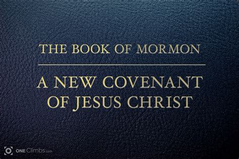 pictures of the book of mormon the book of mormon a new covenant of jesus