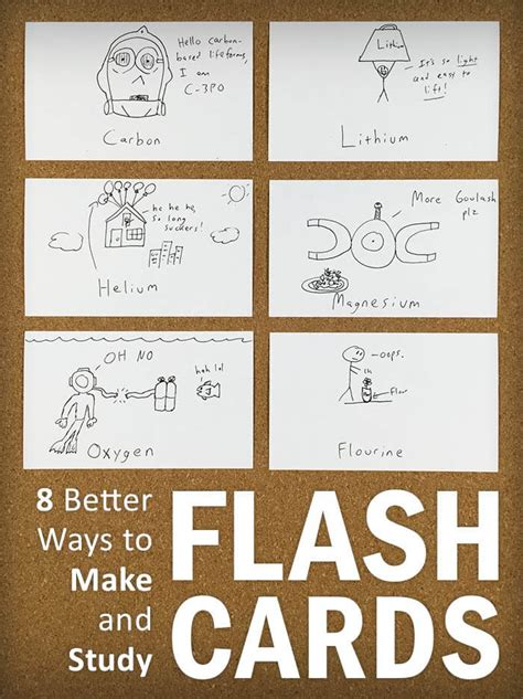 how to make printable flash cards 8 better ways to make and study flash cards college info
