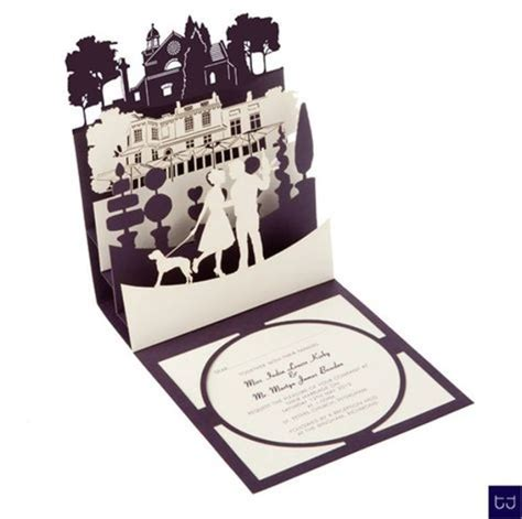 how to make pop up invitation cards best collection of pop up wedding invitations theruntime